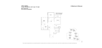 florence-residences-2-bedroom-floor-plan-2d2ph-singapore