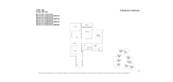 florence-residences-2-bedroom-floor-plan-2d3-singapore