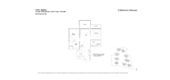 florence-residences-2-bedroom-floor-plan-2d4ph-singapore