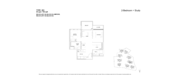 florence-residences-2-bedroom-floor-plan-2s1-singapore
