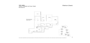 florence-residences-3-bedroom-floor-plan-3c6ph-singapore