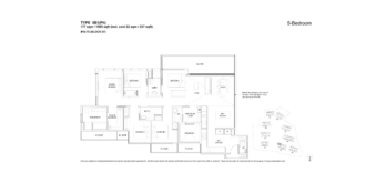 florence-residences-5-bedroom-floor-plan-5b1ph-singapore